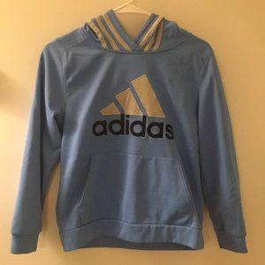 Light Blue Adidas Hoodie